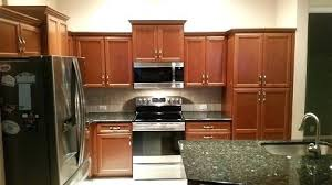 Before And After Cabinet Refacing Refaced By Kitchen Rich Wood Tones