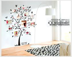 wall decals frame tie family photo frame tree wall sticker home decor living room bedroom wall wall decals frame