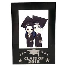 diy photo frame prop class of chalkboard selfie frame photo booth prop graduation party diy graduation diy photo frame