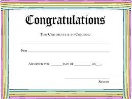 congratulations certificate templates rainbow congratulations awardpurple certificate template free word doc