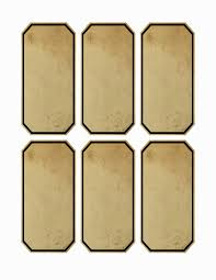 Blank Vintage Apothecary Labels Free Jar Apothecary Labels 4 5