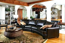 round area rug with sectional how how to place area rug in front of sectional
