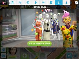 fashion in the sims mobile