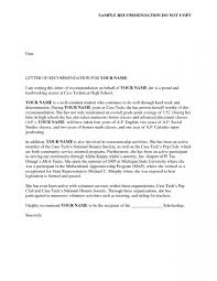 Surprising Sorority Recommendation Letter Template Ideas Rec
