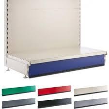 kick plinth for retail shelving wall or gondola units 1000 mm