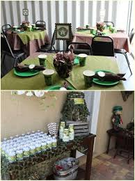 Blue Camouflage Party Decorations Camo Party Table Ideas Blue Camo Party Decorations Camo Party Bags