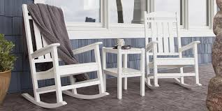 minimalist all weather rocking chair of adirondack white 7769417 hsn pertaining to the stylish endearing all