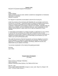 Accommodation Request Letter To Company Sample