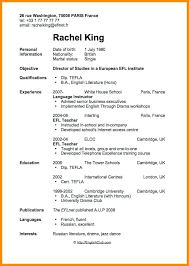 Resume For First Job Beauteous Basic Resume Template For First Job Examples Student Work Experience