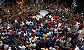 Image result for attack against arjuna ranatunga at petroleum corporation