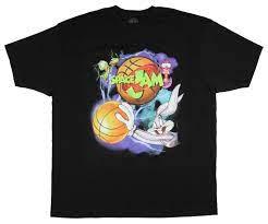 Großhandel Looney Tunes Space Jam Shirt Herren Bugs Bunny Nerdlucks Grafik  T Shirt 2XL Von Goodluck064, 10,6 € Auf De.Dhgate.Com