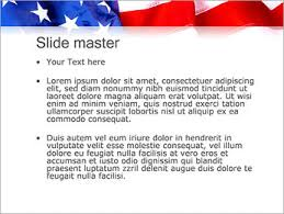 American Flag Powerpoint Usa Flag Powerpoint Template Infographics Slides