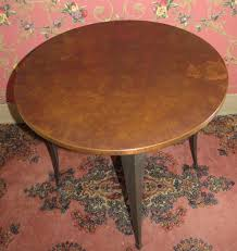 ethan allen collectors classics copper top round end table 13 8705