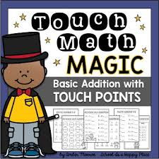 Free Printable Touch Math Chart Touch Math Magic Basic Addition With Touch Points By