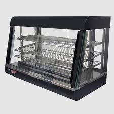 display case warmer 26w counter top wet or dry hot deli 695