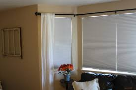 kitchen curtains on incredible design bow window curtain rods