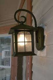 replacing a porch light fixture