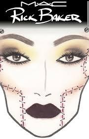 Mac Cosmetics Halloween Face Charts Mac Halloween Face Charts Beauty Parler