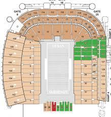 Ut Stadium Seating Chart 21 Precise Dkr Memorial Stadium Seating