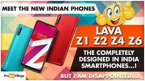 Phones - LAVA Z1 Z2 Z4 Z6 ...