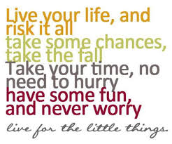 Quotes To Live Your Life By Unique Quote Pictures Live Your Life And Risk It All