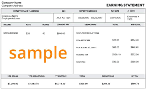 Form – Antonchan co Sample Quickbooks Stub Pay Format