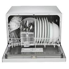 rca countertop dishwasher white