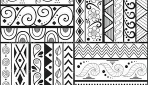 How To Draw Patterns Gorgeous Interior Patterns To Draw Easy Patterns Easy To Draw 48 Free