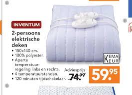 Elektrische deken blokker