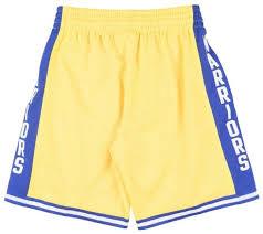 Adidas Nba Shorts Size Chart Details About Mens Mitchell Ness Nba Swingman Home Shorts Gs Warriors 74 75
