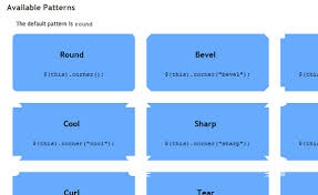 rounded corners jquery image styling backgrounds appearance inspiration