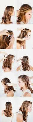 Coiffure Simple Et Rapide Cheveux Courts Coiffure Tresse