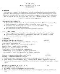 Example Of Paralegal Resume Legal Secretary Resume Samples Legal