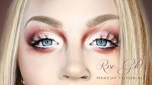 glam gore 3 5m subscribers subscribe smokey rose gold eye face makeup tutorial