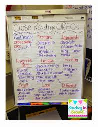 Stuckey In Second Close Reading With Oreos By Primary