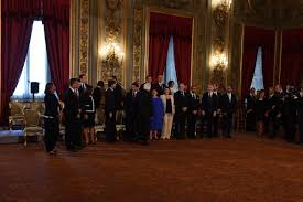 Tutti i nuovi ministri in posa con Mattarella davanti alla lente di Pizzi.  Le foto - Formiche.net