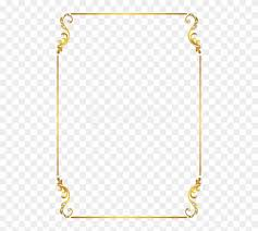 Free Png Download Border Frame Gold Clipart Png Photo