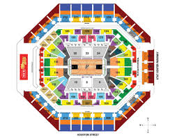 At7t Center Seating Chart Studious Att Center Concerts At T Park Suite Map How To