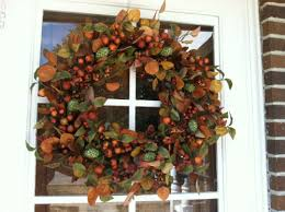 how to make a front doorhow to make a fall door wreath  Roselawnlutheran