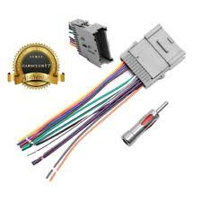 cobalt wiring harness stereo radio wiring harness w antenna adapter for 00 19 gmc chevy buick pontiac