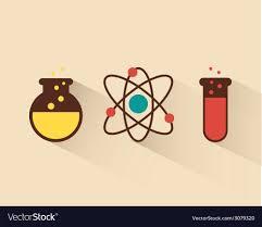 atomdesign atom design royalty free vector image vectorstock