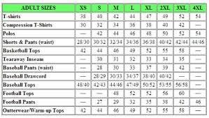 Volleyball Knee Pad Size Chart Bedowntowndaytona Com