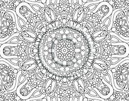 Flower Mandala Coloring Sheets Lotus Pages Difficult Printable For
