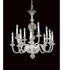savoy house european dutch 12 light crystal chandelier in chrome 2 15298 12 15