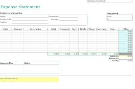 Employee Expense Report Template Free – Stiropor Idea