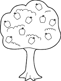 Small Picture Cute Apple Tree Coloring Page Wecoloringpage