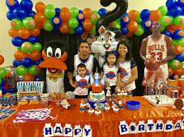 Romeo's 2nd Jam | Space jam theme, Space birthday party, 1st birthday party  themes