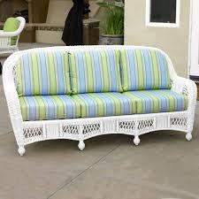 north cape wicker st lucia sofa cushion set