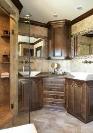 bathroom vanity remodel. Corner Double Sink Bathroom Vanity Remodel Eclectic Bath