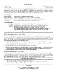 Programmer Analyst Resume Sample. data analyst resume sample ...